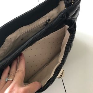 kate spade Bags - Kate Spade quilted Chanel-like large black purse